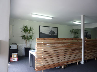 Interior wall paintings of New Zealand Sponsorship agency