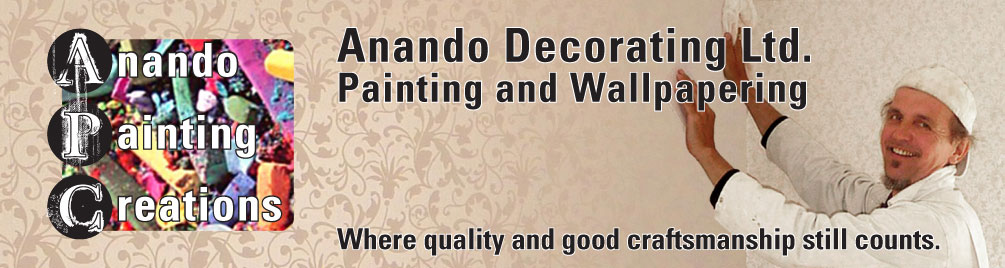 Anando ArtAttack and Anando Painting Creations logo!